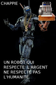 Chappie marketing robot Asimov